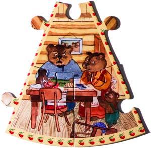 Сказзл Три Медведя. 7-й сектор. А медведи пришли домой голодные и захотели обедать.